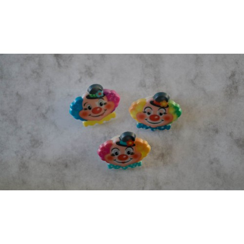 Bento clown rings