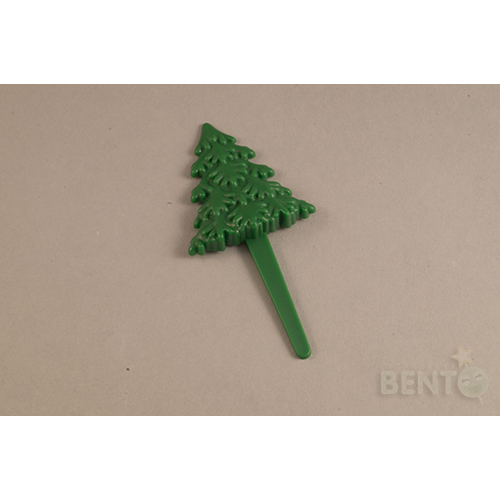 Christmas tree Bento picks