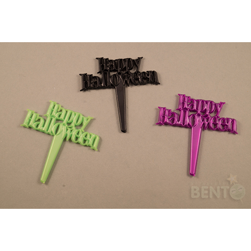 Happy Halloween Bento prikkers
