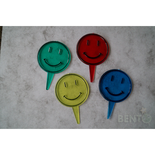 Smiley Bento picks