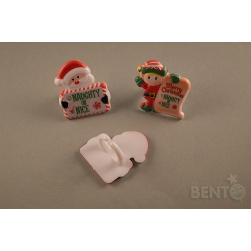Santa Claus special Bento rings