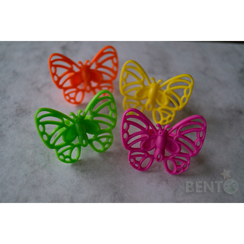 Butterfly Bento rings