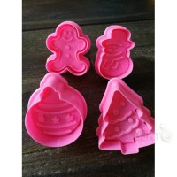 Christmas plunger cutters