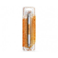 Double-sided marker with edible ink, orange